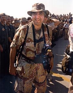 David Valdez  During Desert Storm